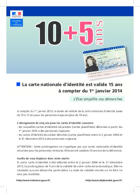 la carte d identité est elle obligatoire Carte Nationale d'Identité / Passeport | Gravelines